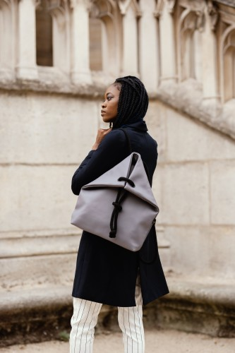 GREY BAG-BACKPACK