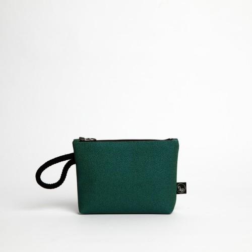 GREEN RAJA CLUTCH BAG