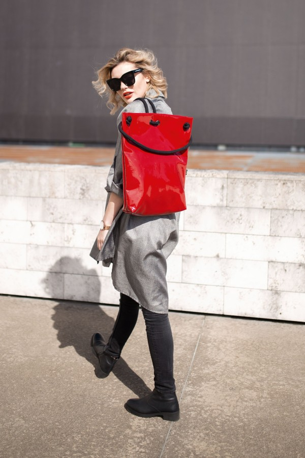 RED LACK BAG - BACKPACK