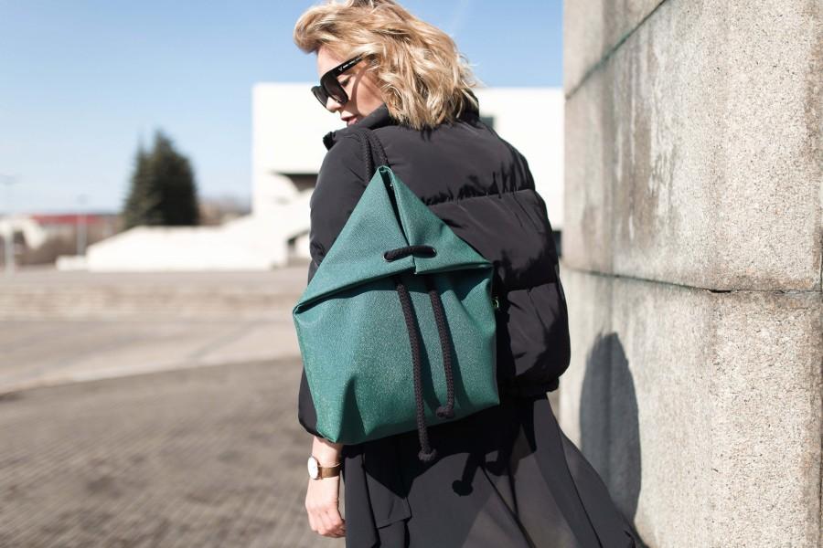 RAJA GREEN BAG-BACKPACK