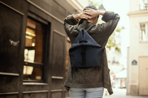 RAJA BLUE BAG-BACKPACK