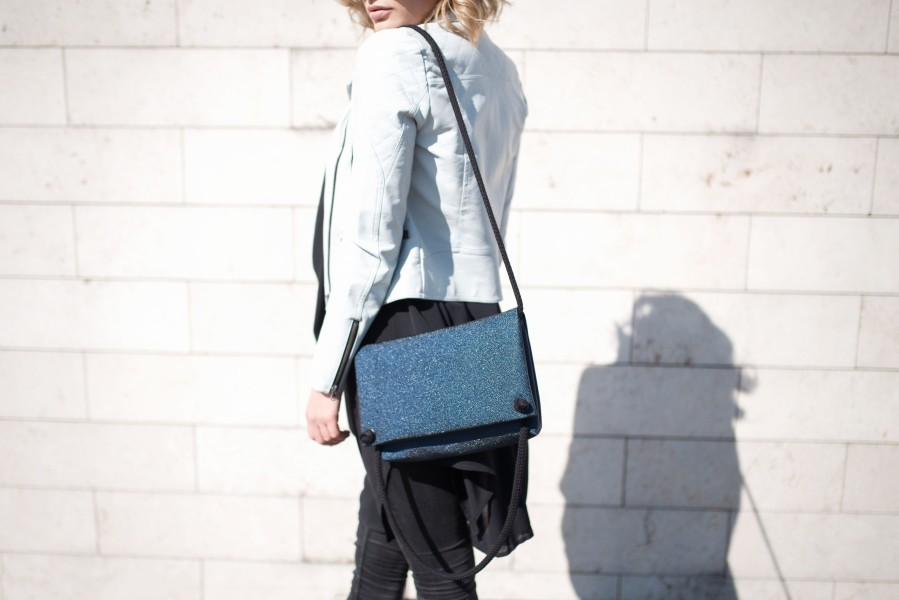 DEEP BLUE RAJA HANDBAG