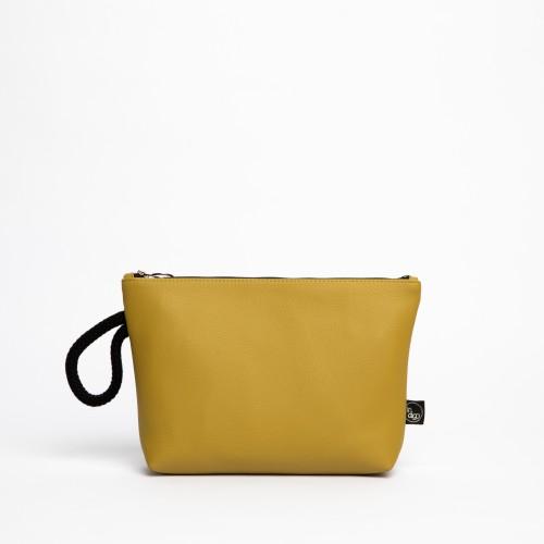 CLASSIC MUSTARD CLUTCH BAG 2in1